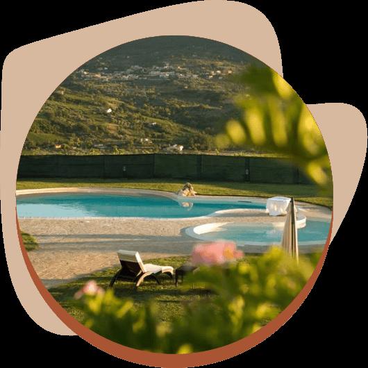 Agriturismo a Benevento con piscina