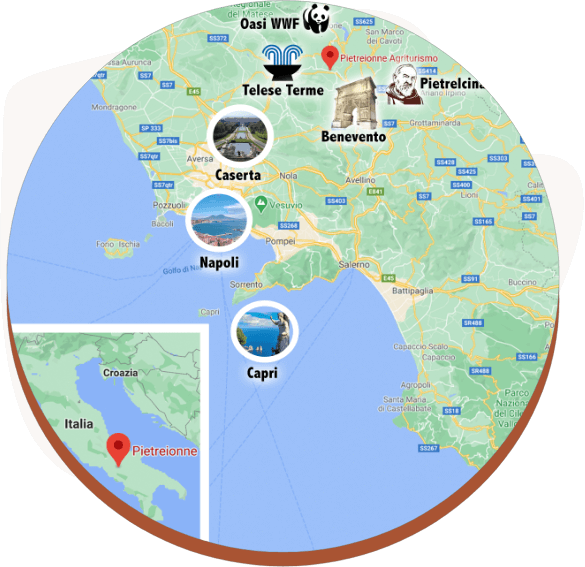 Benevento turismo campania